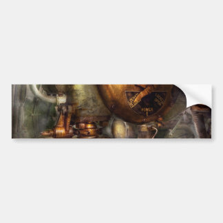 Steampunk - Naval - Shut the valve Bumper Sticker