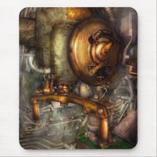 Steampunk - Naval - Shut the valve Mouse Pad