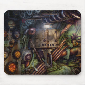Steampunk - Naval - The comm station Mouse Pad