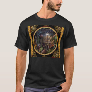 Steampunk - Naval - The comm station T-Shirt