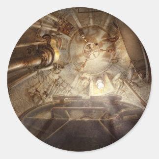 Steampunk - Naval - The escape hatch Sticker