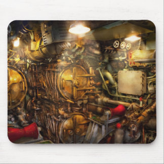 Steampunk - Naval - The torpedo room Mouse Pad