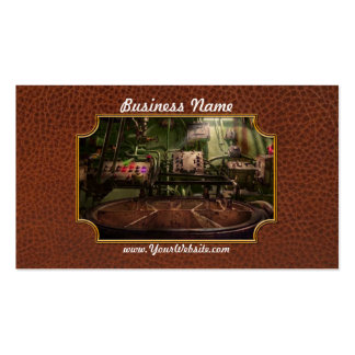 Steampunk - Naval - This is where I do my job Double-Sided Standard Business Cards (Pack Of 100)