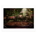 Steampunk - Naval - This is where I do my job Post Card