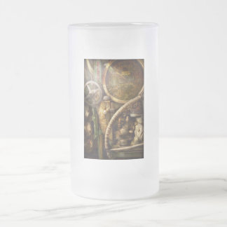 Steampunk - Naval - Watch the depth Frosted Glass Beer Mug