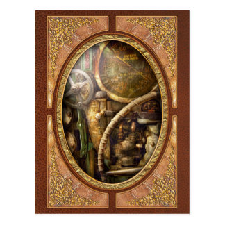 Steampunk - Naval - Watch the depth Postcard