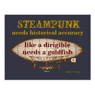 Steampunk Needs postcard