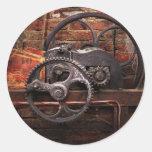 Steampunk - ningunos 10 pegatinas redondas