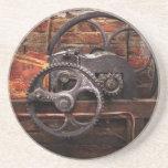 Steampunk - ningunos 10 posavasos diseño