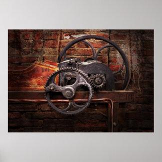 Steampunk - ningunos 10 póster