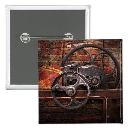 Steampunk - No 10 Button