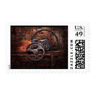 Steampunk - No 10 Postage Stamp