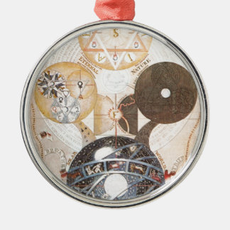 Steampunk Occult Star of David Ornament
