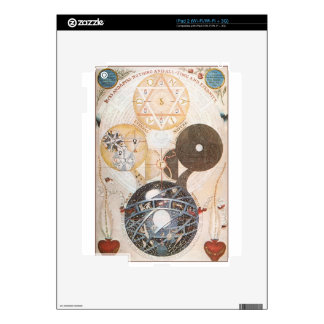 Steampunk Occult Star of David Decal For The iPad 2