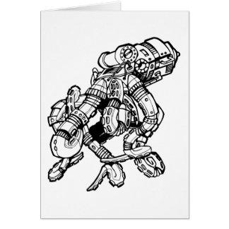 Steampunk Octopus Card