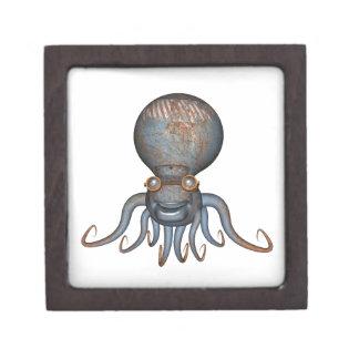 Steampunk Octopus Keepsake Box