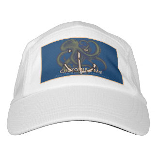 Steampunk Octopus Over Anchor Headsweats Hat