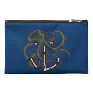 Steampunk Octopus Over Anchor Travel Accessories Bags