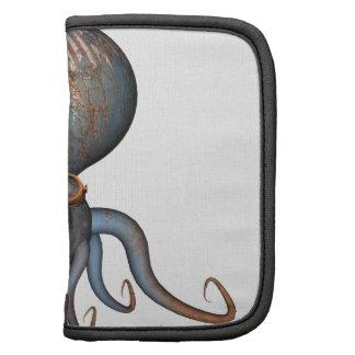 Steampunk Octopus Folio Planner