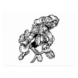 Steampunk Octopus Postcards