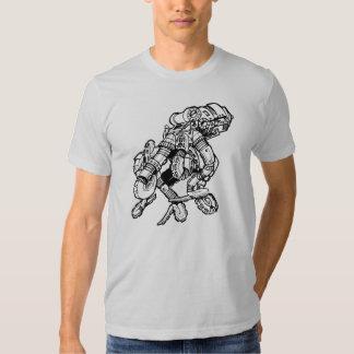 Steampunk Octopus Tee Shirt