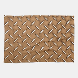 Steampunk Old Brass Plating Metal Effect Towels