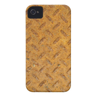 Steampunk Old Rusty Plating Metal Effect iPhone 4 Case
