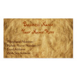 Steampunk Old Vintage Paper-effect Business Cards