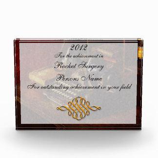 Steampunk - Oliver's typing machine Acrylic Award