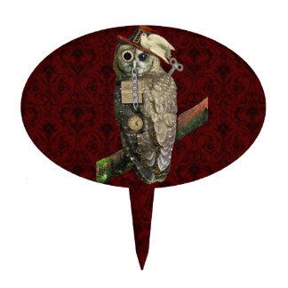 SteamPunk Owl Cake Topper