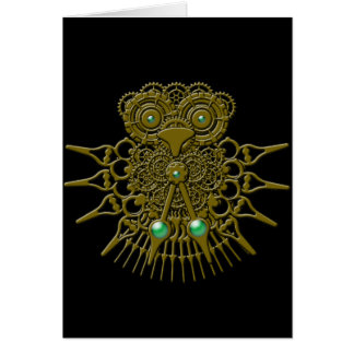 Steampunk Owl Cards