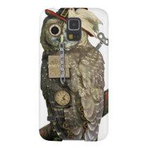 SteamPunk Owl Galaxy S5 Case