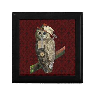 SteamPunk Owl Keepsake Box