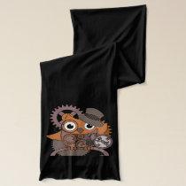 Steampunk Owl Scarf