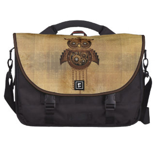 Steampunk Owl Vintage Style Commuter Bag