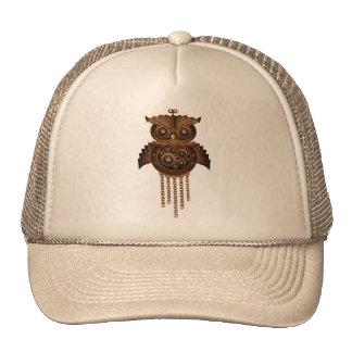 Steampunk Owl Vintage Style hat