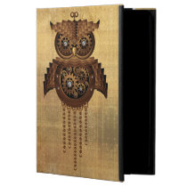 Steampunk Owl Vintage Style iPad powiscase iPad Air Case