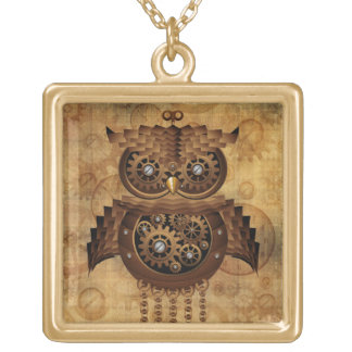Steampunk Owl Vintage Style Necklaces