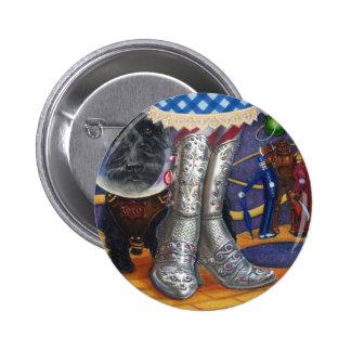 Steampunk Oz Pinback Button