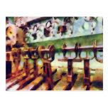 Steampunk - palancas en submarino postal
