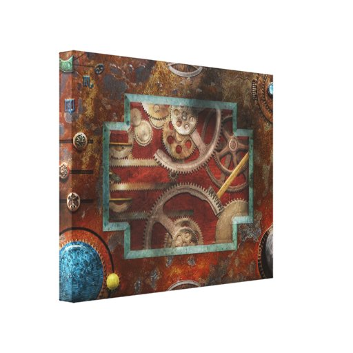 Steampunk - Pandora's box Canvas Print