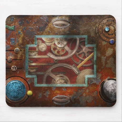 Steampunk - Pandora's box Mousepads