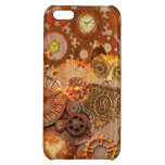 Steampunk pattern iPhone 5C cover