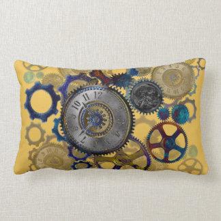 STEAMPUNK patterns Home decor Lumbar Pillow