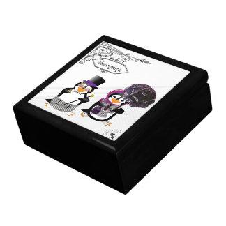 Steampunk Penguins Gift Box