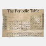 Steampunk Periodic Table Hand Towel
