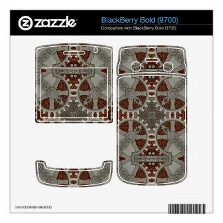 Steampunk Pewter Gears Blackberry BlackBerry Bold Decal