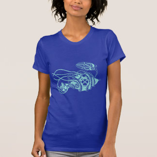 Steampunk Phage vs. Bacteria T-Shirt