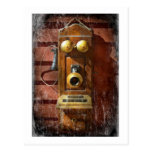 Steampunk - Phone Phace Post Cards