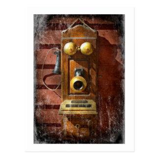 Steampunk - Phone Phace Postcard
